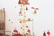Vinilos / Nuestra mejor selección de Vinilos Infantiles para decorar el dormitorio de nuestros pequeños. #Lilipinso.