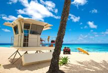 Hawaiian Beaches / Beaches an ocean in Hawaii