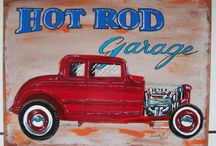 HOT ROD PAINTING / Mes peintures hot rod