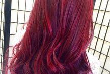 Haarfarbe rot