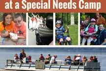 Summer Camp / What is it like to be a counselor at a camp for children and adults with disabilities? Check out these pins and find out!