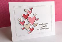 Inspiration - Valentine Cards / Inspirace pro valentýnská přání