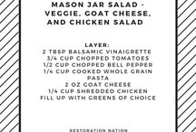 Food: Mason Jar Salads