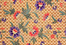 My kain / Indonesian traditional fabrics and pattern