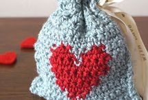 Gift bag crochetting