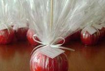 manzana acaramelada
