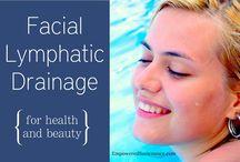 Facial lymfatic drainage