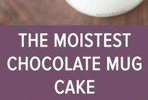mug cakes & bakes
