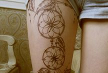 leg/thigh tattoo