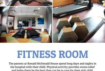 What's in Ronald McDonald House? / About the Red Deer House and the Calgary House
