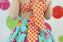 vestido de crianças