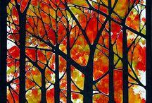 Trees art inspiration