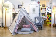 Teepees & Kids Play Tents