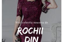 Rochii din Dantela / Vezi colectia noastra de rochii din dantela de unde te poti inspira atat pentru o rochie lunga de seara din dantela cat si pentru o rochie eleganta si sexy de ocazie
