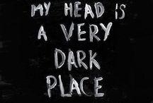 dark thoughts / dark thoughts