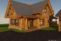 2294 - Mount Baker / RCM CAD DESIGN DRAFTING LTD is an architectural design firm primarily specializing in log and timber construction projects.