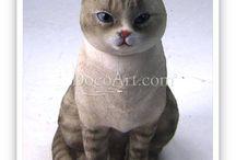 cat figure / 고양이 피규어
