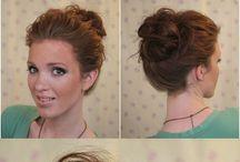 Schnelle Frisur