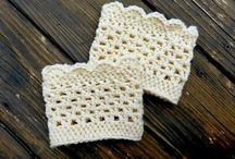 Crochet Boot Cuffs / by Patricia Melson
