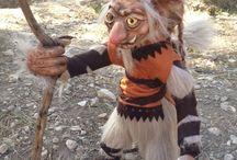 Trolls, hecho a mano por mi / Trolls de diferentes culturas