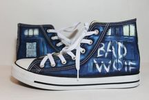 Doctor Who & Converse
