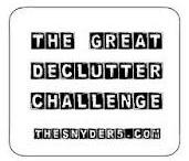 Challenge ~ DeClutter / by Alena S