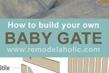 Toddler safety / Ideas for diy safety in house. With a toddler en pets in our family