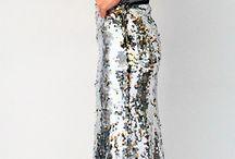 Lesklé sukně