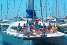 CATAMARAN AND BOAT CHARTERS MARBELLA, BENALMADENA / E2M have a wealth of experience when it comes to boat charters on the Costa del Sol, motor boats and yachts can be chartered from Benalmadena, Marbella, Puerto Banus and Estepona marinas as well as from other marinas on the coast.  Are you looking for something different for your stag or hen party?  Do you want to really impress your corporate clients?