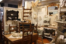 Antique booth displays