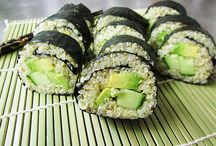 Recipes- Sushi / by Beth DeWeese