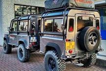 Land rovers Defender