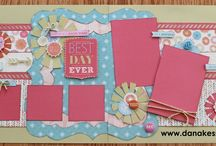 Scrapbook Ideas - CTMH  Layouts / by Diane Jones