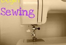 Learning to sew / by Cheryl Bagwell-Covington