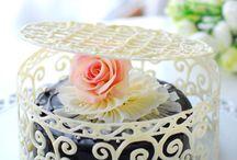 оформление тортов шоколадом