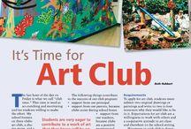 kid art - art club / by ms art