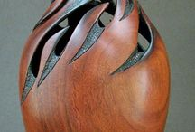 Woodturning then carved / by D.J. Gray