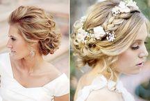 ślub - fryzura