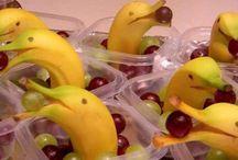 Funny fruits / Sjove frugt dyr til børn og voksne