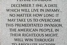 Remember Pearl Harbor  / by Katie Pritts