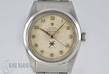 BIGMOON Rolex Vintage Watches / A board of our newest arrivals of pre-owned Rolex Vintage watches.