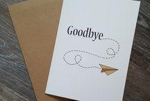 Reise Abschied