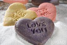 biscoito coração