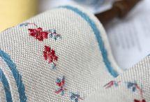 ленты для вышивки