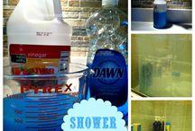 Shower cleaner