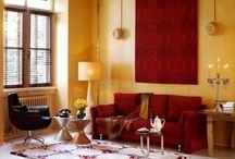 Iberian style interiors