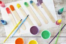 Crafts for barnebarna