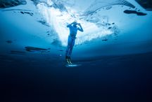 Guinness World Record - 500 Feet Ice Dive In Wetsuit / These pictures are from Stig Severinsen's 500 foot freedive under water in a wetsuit