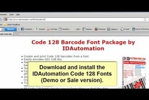 Barcoding in Word Video Tutorials