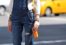 Latzhose&Jeans&Used